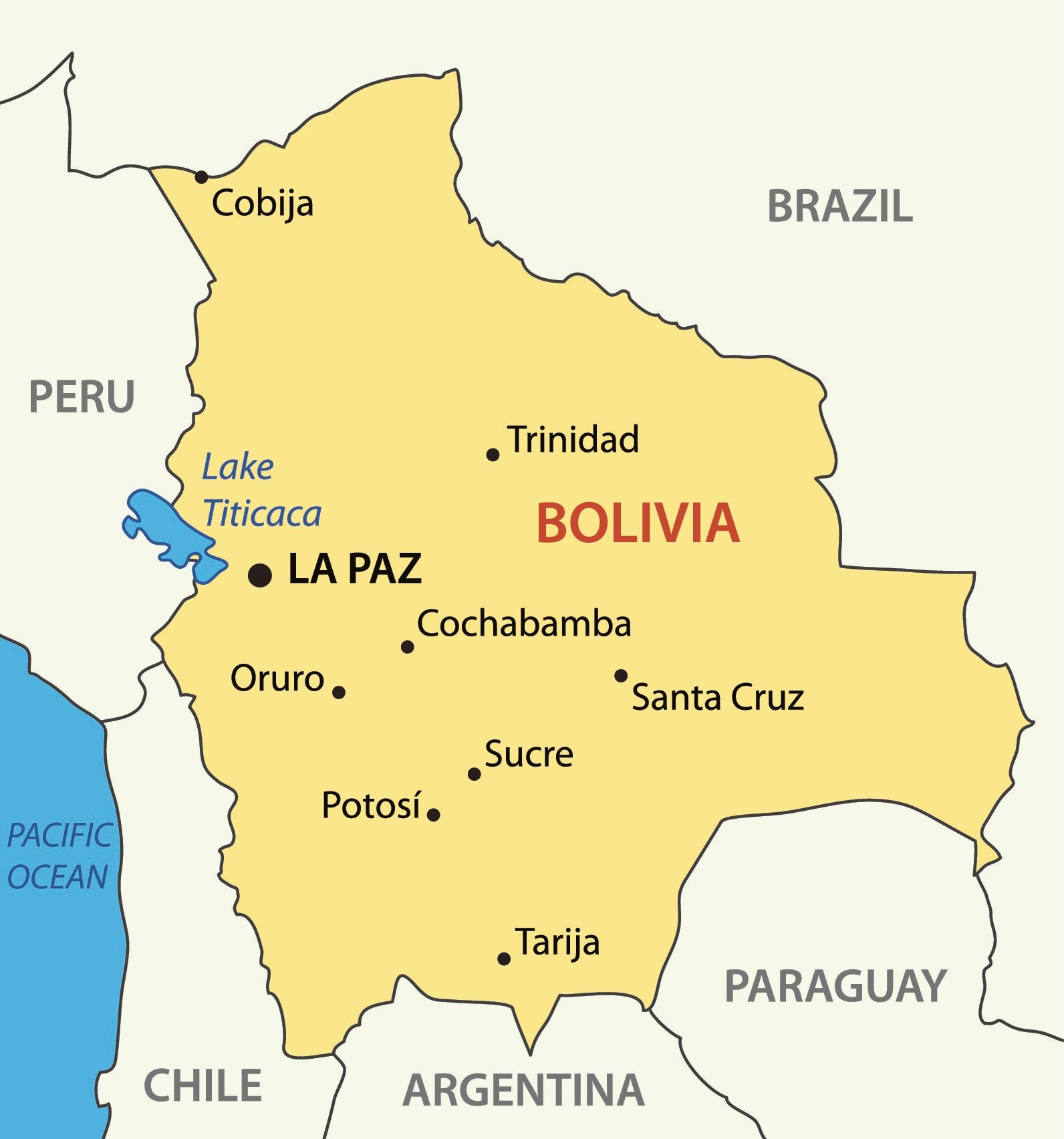 Picture of: Map Of Bolivia And Bolivia Flag Facts Best Hotels Home