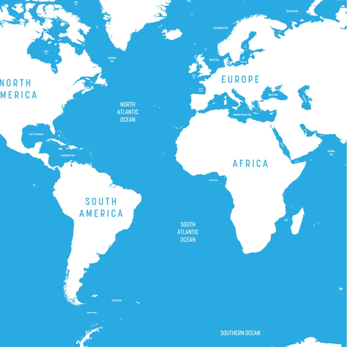 Picture of: Atlantic Ocean Map And 10 Beautiful Islands In The Atlantic Ocean Best Hotels Home