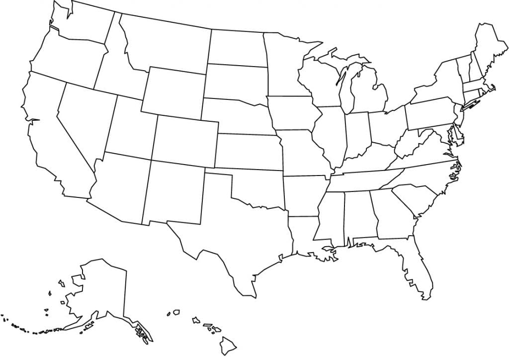 Picture of: Map Of United States Of America Usa Usa Flag Facts Best Hotels Home