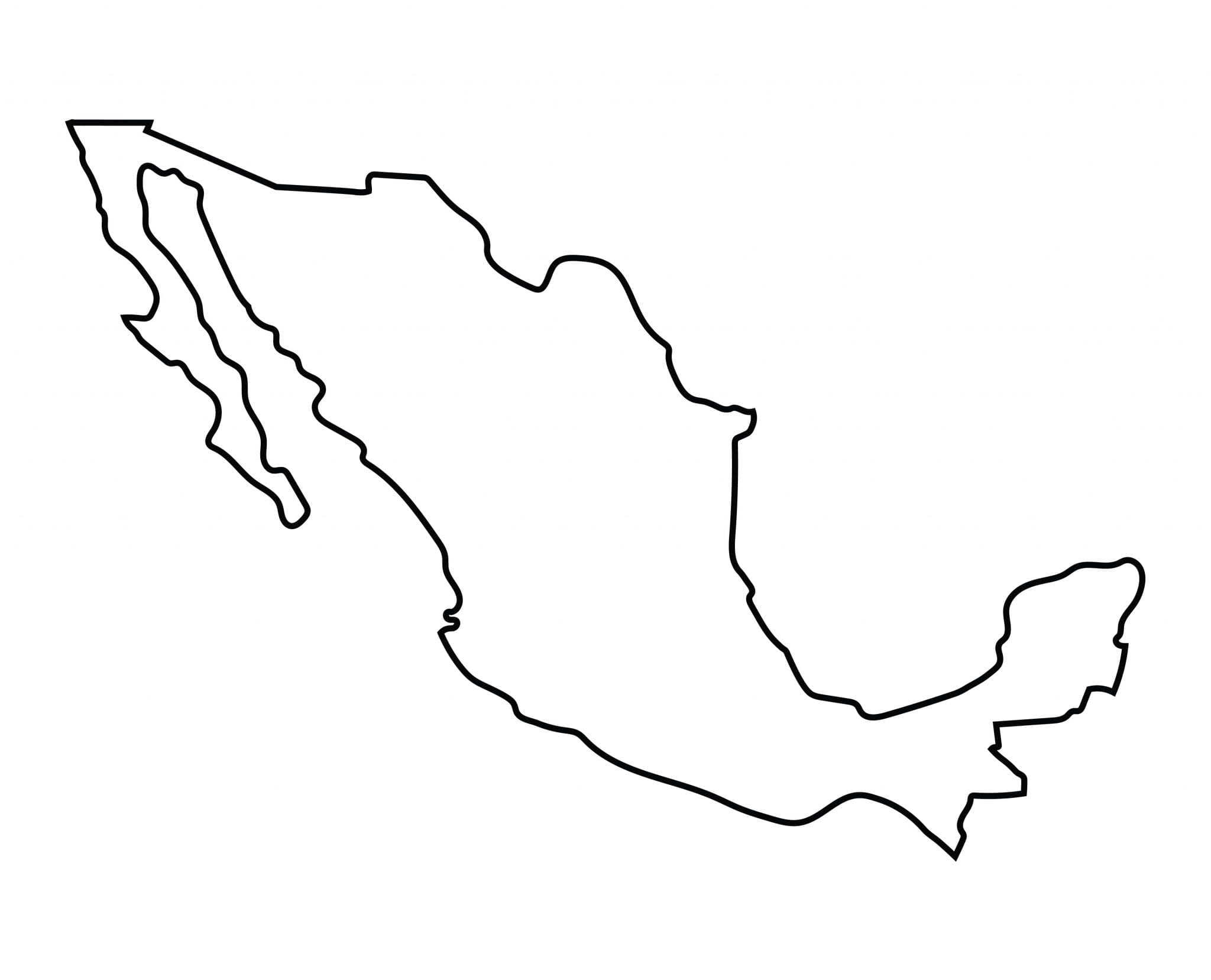 Map of Mexico | Mexico Flag Facts - Best Hotels Home